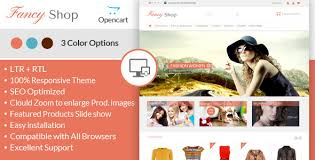 fancy shop opencart responsive theme by templatemela themeforest