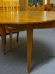 Esszimmertisch Ausziehbar Kirschbaum Esstisch Tisch Rund Biedermeier Stil Kirschbaum Furniert