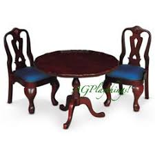american doll table and chairs tilt top table chairs in felicity s time colonial homes boasted a