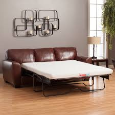 memory foam sleeper sofa reviews leather sleeper sofas bonners furniture