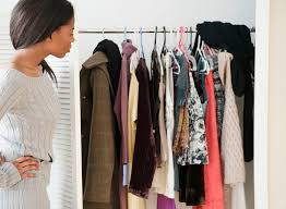 declutter the closet once and for all