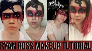 panic at the disco ryan ross makeup tutorial using all