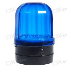 blue light on car police detective style magnetic car roof mount 6 led blue flash