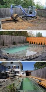 Backyard Swimming Ponds by Best 25 Diy Swimming Pool Ideas On Pinterest Diy Pool Pallet