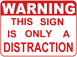 quote distraction the art of distraction from truth thoughts from the horizon