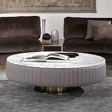 trebbiano round cocktail table round coffee table with marble top smart round marble top coffee