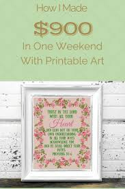Floral Design Business From Home How To Make Money Selling Printable Art Printable Art Business