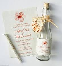 message in a bottle wedding invitations message in a bottle invitations for pirate or