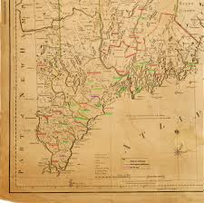 Massachusetts Towns Map by Massachusetts Historical Society How Did Massachusetts Towns Vote