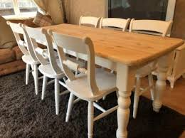 shabby chic farmhouse table second hand household furniture buy