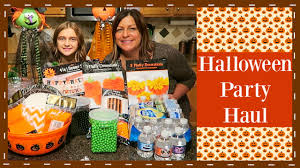 kids halloween party haul youtube