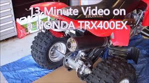 honda brake fluid change out trx400ex youtube