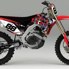 honda fmx honda graphics archives rival ink design co custom motocross