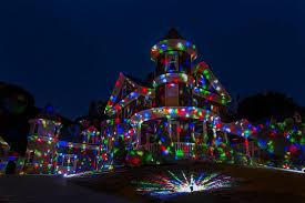 elfightaser show house projector