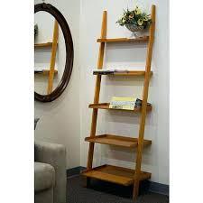 Leaning Bookcase Walmart Bookcase Leaning Ladder Shelves Australia Wooden Leaning Ladder