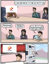 Metal Gear Solid Meme - boardroom meeting suggestion meme imgflip