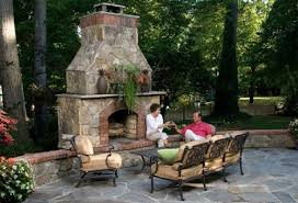 Patio Fireplace Kit by Making Good Use Of The Outside Fireplace Kits Home Design Ideas
