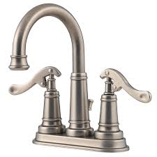 Price Pfister Ashfield Kitchen Faucet by Shop Pfister Ashfield Rustic Pewter 2 Handle 4 In Centerset