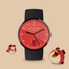 angry birds aviator watch face android apps google play