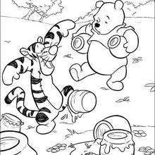 winnie the pooh coloring pages hellokids com