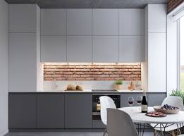 small modern open plan kitchen great inspiration of small modern studio apartment using