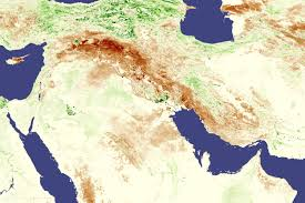Fertile Crescent Map Nasa Visible Earth Drought In Iraq