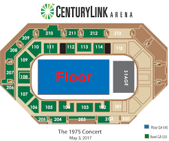 the 1975 centurylink arena