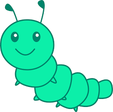 colors clipart larva pencil and in color colors clipart larva