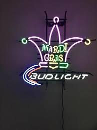 bud light neon signs for sale bud light mardi gras neon sign real neon light for sale hanto neon