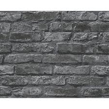 as creation brick wall pattern embossed non woven wallpaper 954701