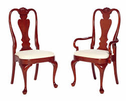 queen anne dining room furniture cherry queen anne dining chairs