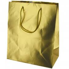 gold gift bags medium matte gold gift bag