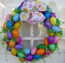 how to make an easter egg wreath easter egg wreath all about letter