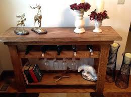 sofa table with wine rack wine racks wine rack console table wine rack console table and