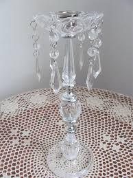 wedding centerpiece decorations faux crystal candle holder