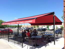 Awnings For Businesses Retractable Awnings For Businesses Jans Awnings