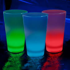glow in the cups led atomic glow cups lighted 16oz tumblers light up cups