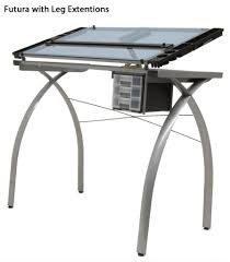 Glass Top Drafting Drawing Table Planetswimschool Table Chair Furniture Design Photo On