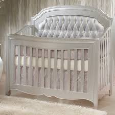 Designer Convertible Cribs Convertible Crib Tufted Panels And Nursery