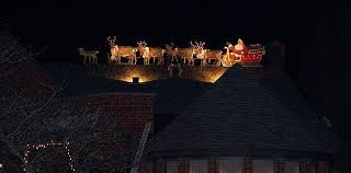 santa sleigh and reindeer new lighted outdoor santa sleigh and reindeer all about home