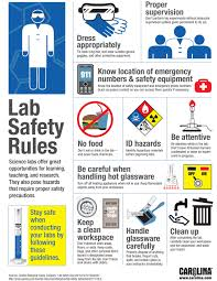 lab safety riles great for reminding students about how to have
