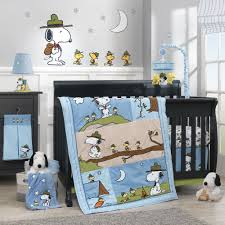 Snoopy Bed Set Snoopy S Cout 4 Crib Bedding Set Lambs