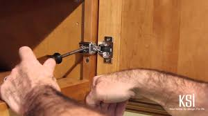how to use adjustable cabinet door hinges and drawer guides youtube
