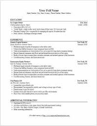 investment banking resume template investment banking resume template what you must include