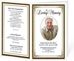 template for a funeral program funeral program templates recent brochure 10 best on template