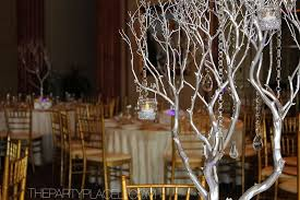 wedding manzanita tree centerpieces the party place li the