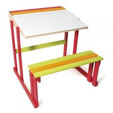 bureau d ecolier bureau d écolier en bois pupitre réversible jeux et jouets