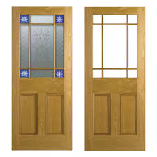 2 Panel Glazed Interior Door Oak Interior Doors Mistral Oak Door Set Grooved Oak Internal