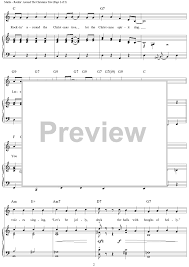 rockin u0027 around the christmas tree sheet music for piano and more