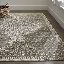 Affordable Persian Rugs Mirren Grey Wool Oriental Rug Crate And Barrel Homebody